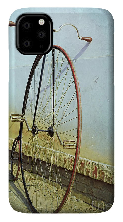 Big IPhone Case featuring the photograph Penny Farthing ,high by Unclepepin