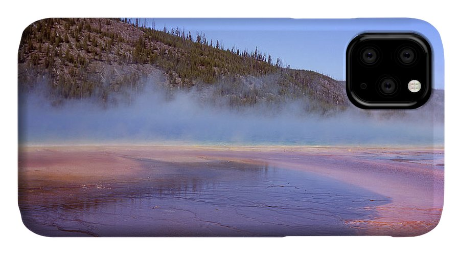 Tranquility IPhone Case featuring the photograph Prismatic Spring Algae by L. Maile Smith