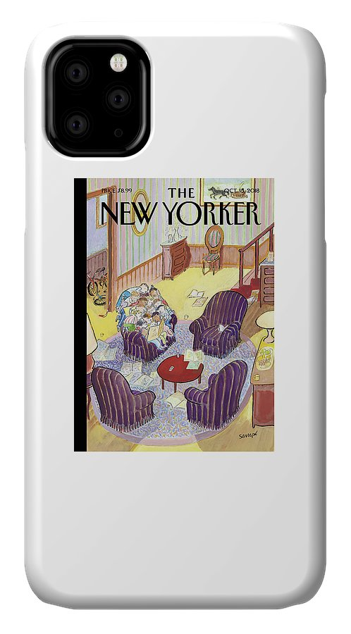 Reading Group IPhone 11 Case