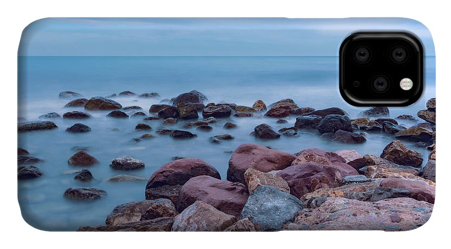 Photography IPhone Case featuring the photograph Rocks And Sea by Vicente Sargues