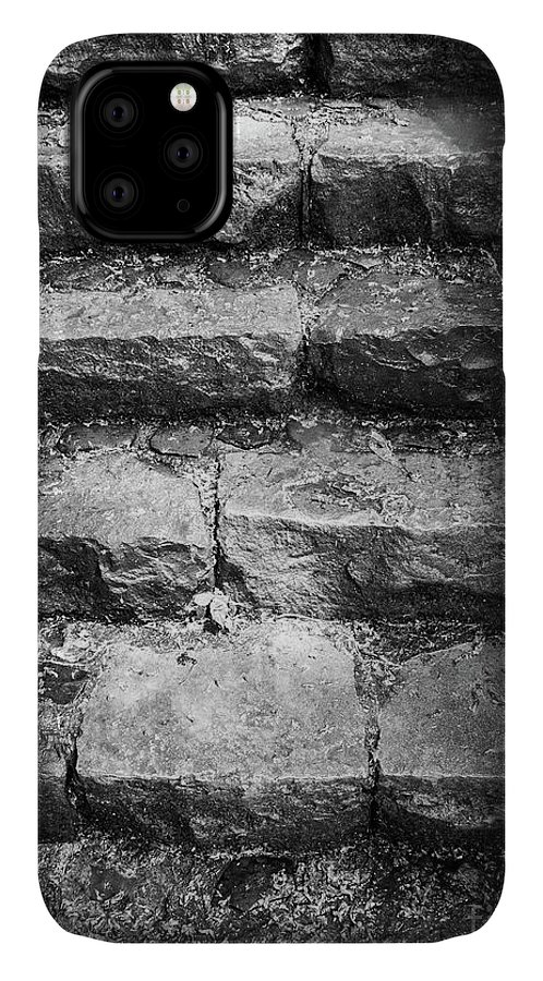 Steps IPhone Case featuring the photograph Stone Steps by Bob Mintie