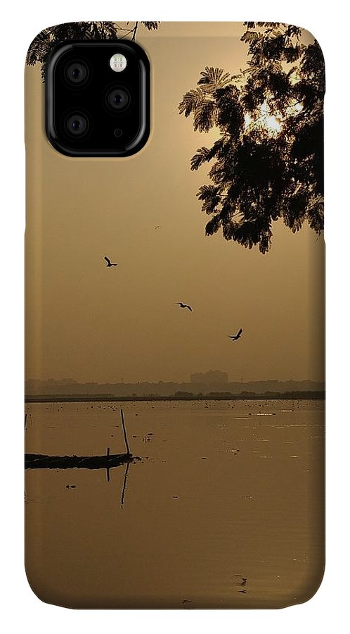Sunset IPhone Case featuring the photograph Sunset by Priya Hazra