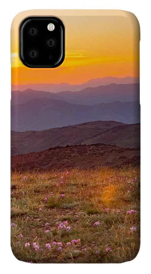 Landscape IPhone Case featuring the photograph Sweetwater Sunset by Mark Miller