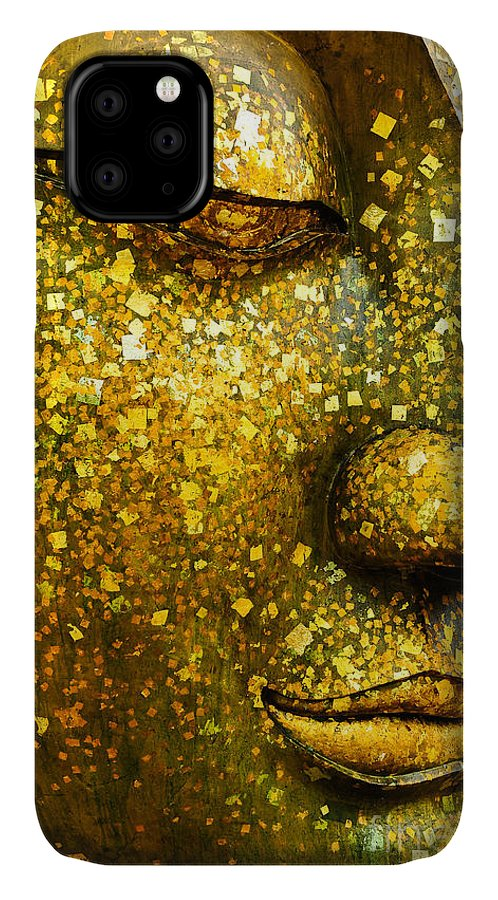 Symbol IPhone Case featuring the photograph The Face Of Buddha by Wasu Watcharadachaphong