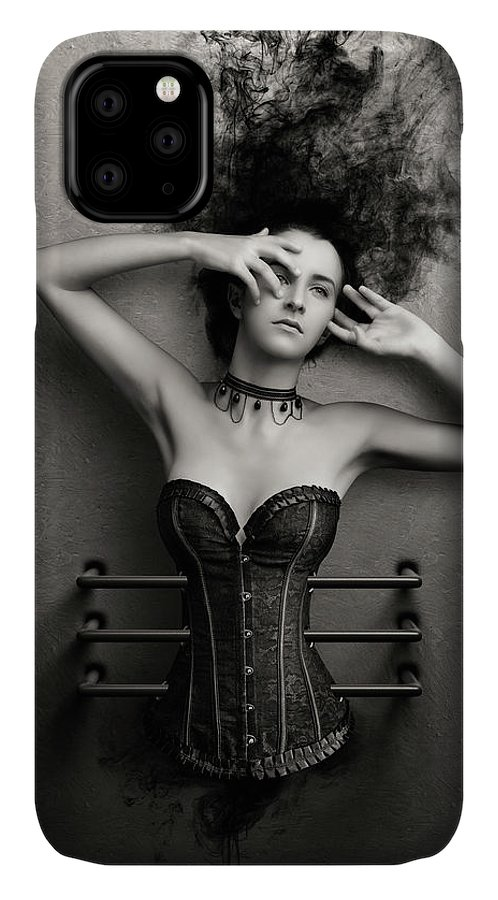 Woman IPhone Case featuring the photograph Trapped by Johan Swanepoel