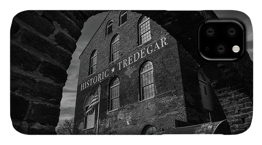 Tredegar IPhone Case featuring the photograph Tredegar Iron Works, Richmond by Fred DeSousa