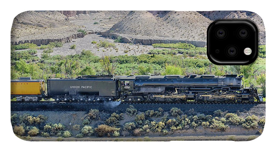 Afton Canyon IPhone Case featuring the photograph Up4014 Big Boy by Jim Thompson