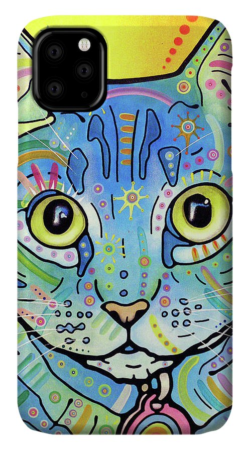 Vintage Maya IPhone Case featuring the mixed media Vintage Maya by Dean Russo
