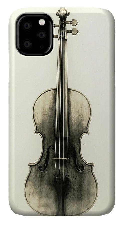 Antonio Stradivari IPhone Case featuring the painting Violin, Cremona, Antonio Stradivari, 1690 by Antonio Stradivari
