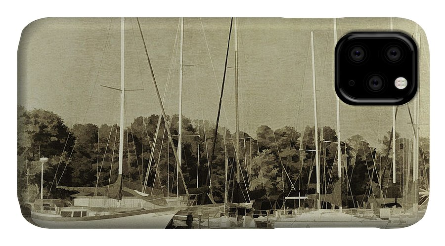 Sporting IPhone Case featuring the photograph Waiting To Sail II by Danny Head