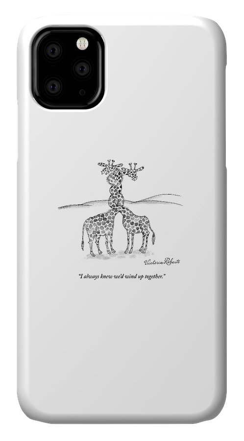 Wound Up Together IPhone Case
