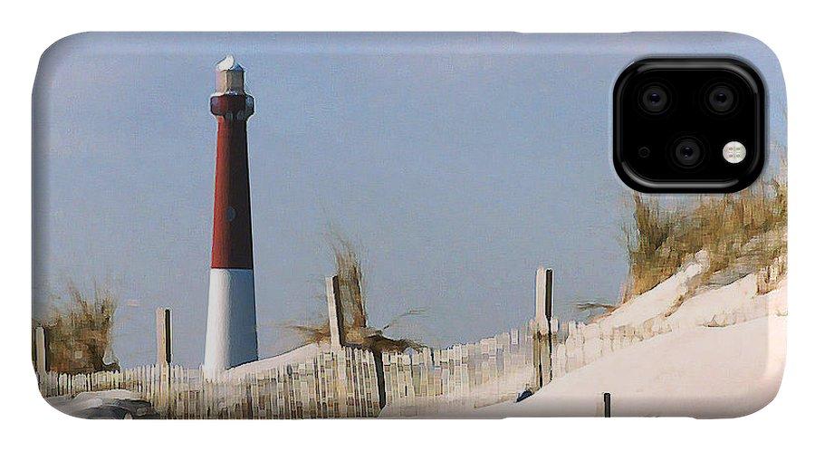 Barnegat IPhone Case featuring the photograph Barnegat Lighthouse by Steve Karol