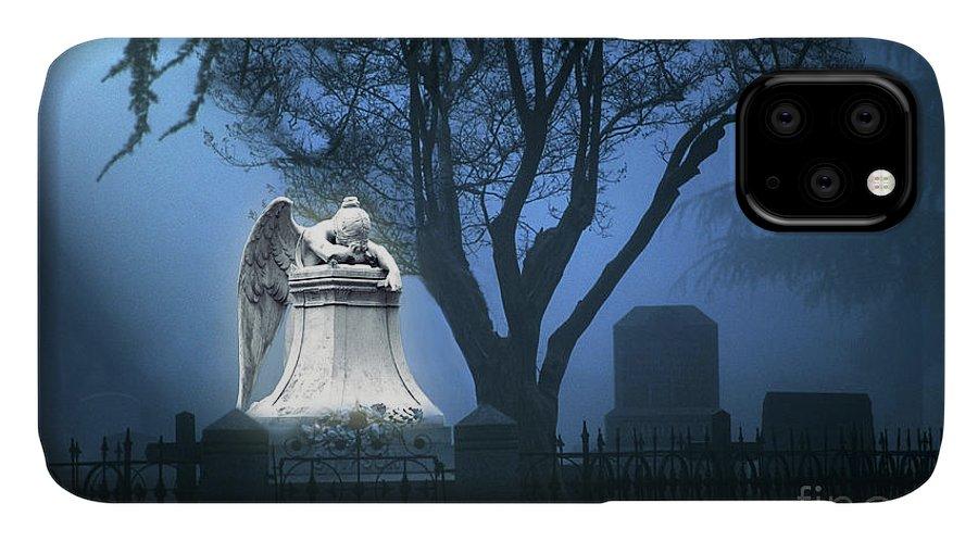 Guardian IPhone Case featuring the photograph Broken Angel by Peter Piatt
