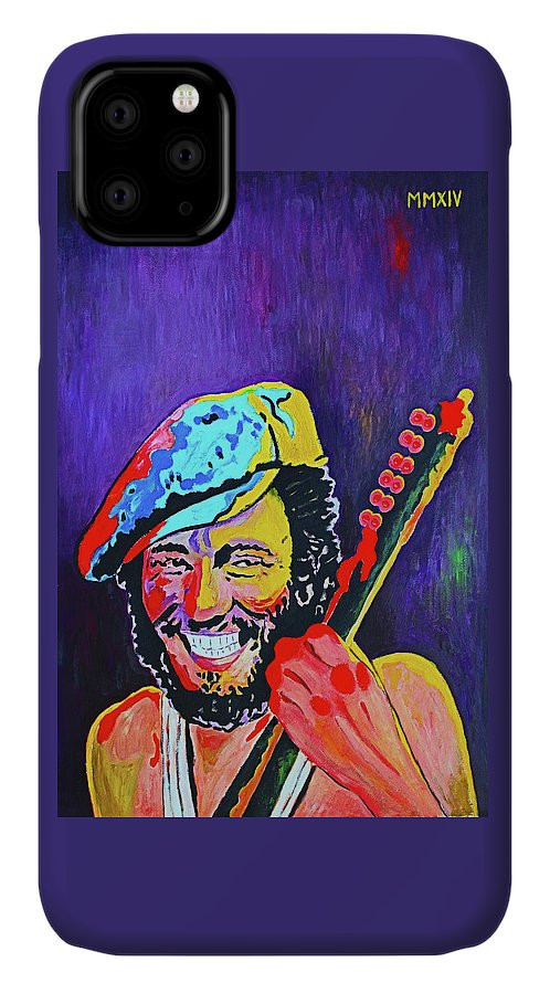 Bruce Springsteen IPhone Case featuring the painting Bruce Springsteen - 1975 by Liana Haraga