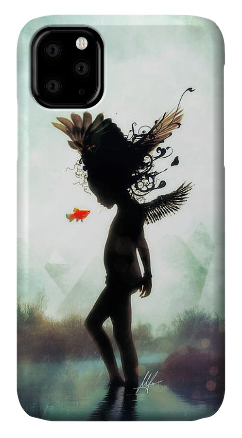 Digital Art IPhone Case featuring the digital art Discovery by Mario Sanchez Nevado