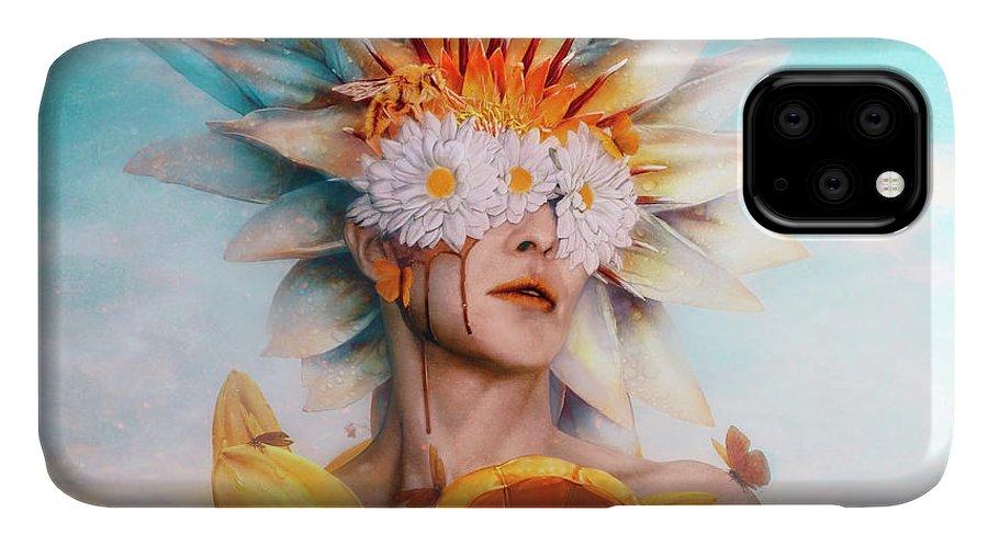 Surreal IPhone Case featuring the digital art Honey by Mario Sanchez Nevado