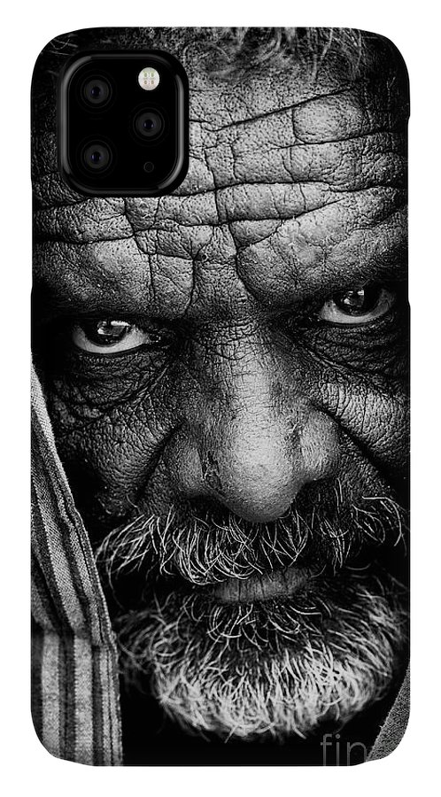Indian Sadhu IPhone Case featuring the photograph Indian Sadhu by Tim Gainey