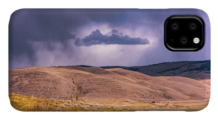 Little Bitterroot Valley IPhone Case featuring the photograph Is That Cloud Holy? by Bryan Spellman