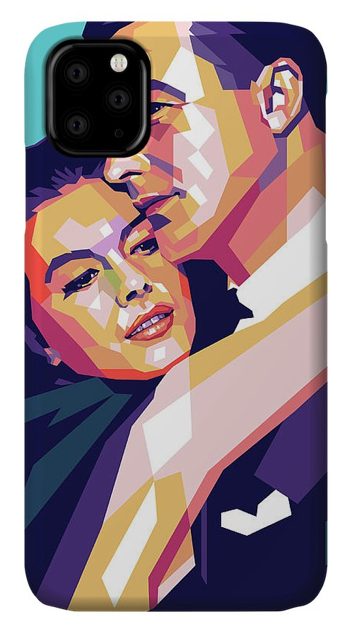 Natalie IPhone Case featuring the digital art Natalie Wood And Gene Kelly by Stars on Art