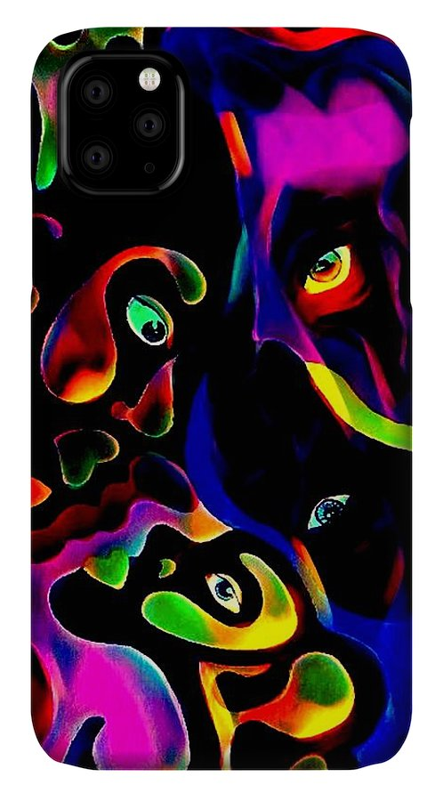 Woman IPhone Case featuring the painting Perspective by Kim Johnson