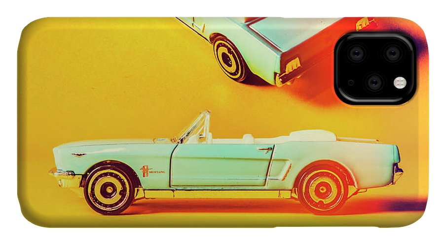 Auto IPhone Case featuring the photograph Summer Of 65 by Jorgo Photography - Wall Art Gallery
