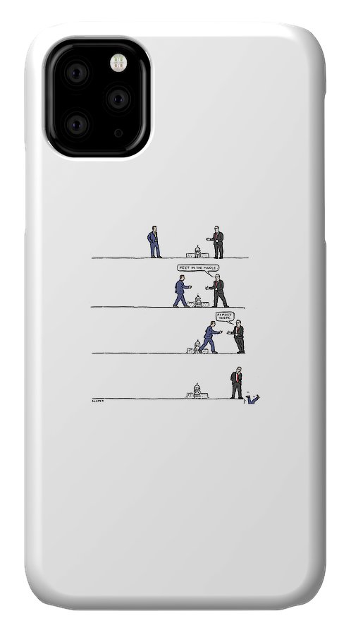 The Art of Political Compromise IPhone Case