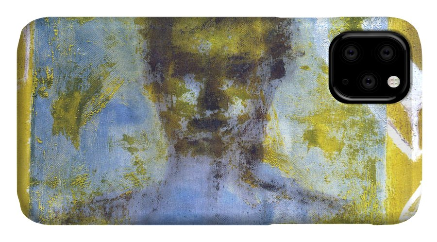 Figure IPhone Case featuring the painting The Comfortable Box by Ingrid Torjesen