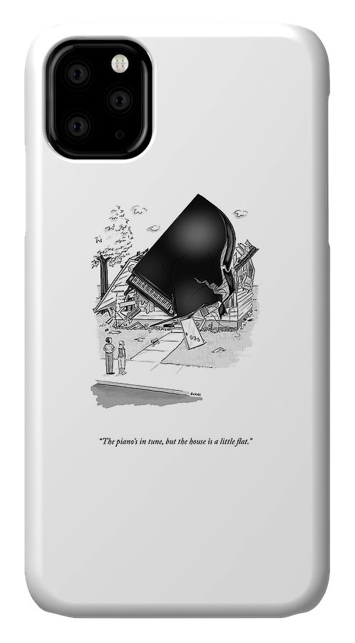 The Piano's In Tune IPhone Case