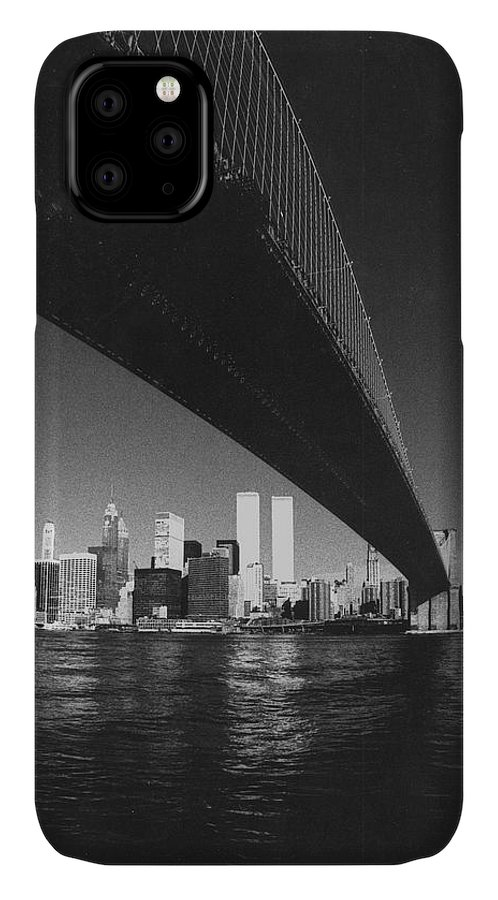 Famous Buildings IPhone Case featuring the photograph World Trade Center Nyc by Steven Huszar