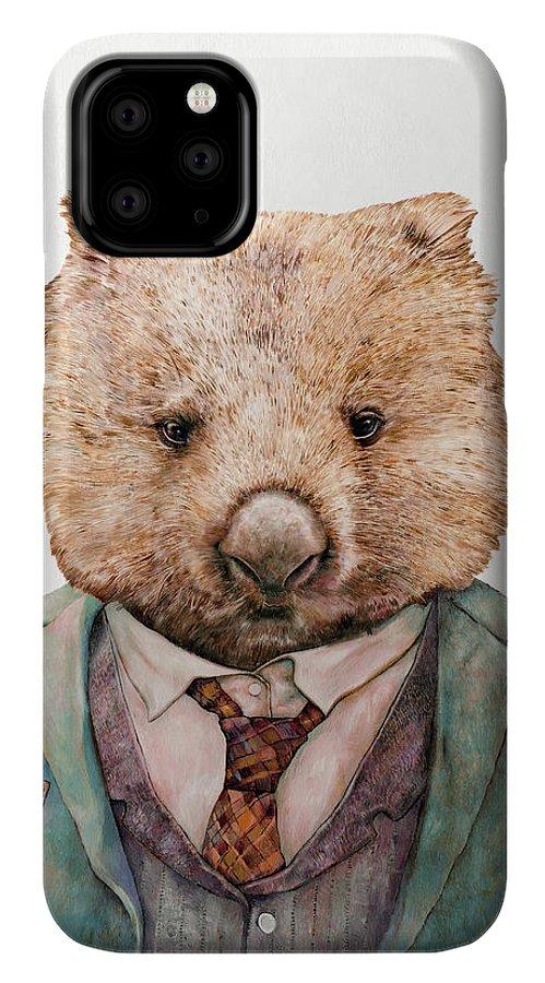 Wombat iphone case
