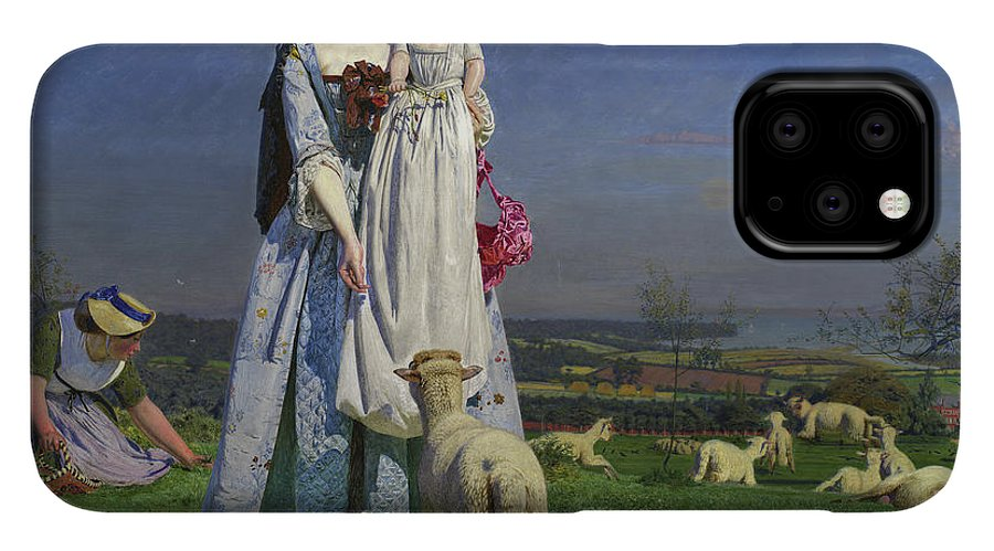 The Pretty Baa Lambs Iphone 11 Pro Case For Sale By Ford Madox Brown