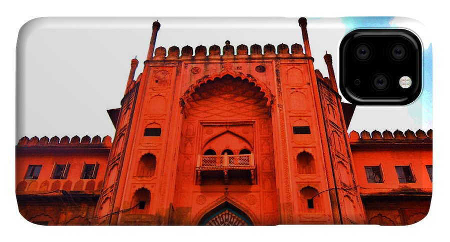 Architecture IPhone 11 Pro Max Case featuring the photograph #Entrance Gate by Aakash Pandit