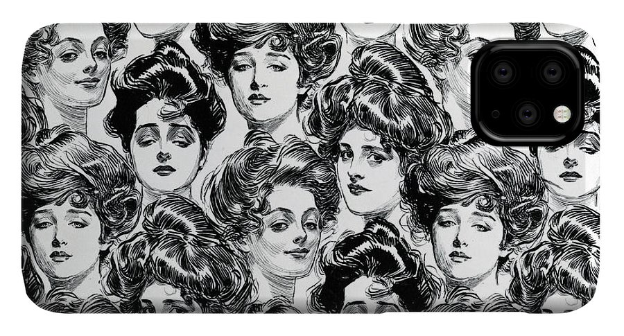 Gibson Girl Design For Wallpaper Iphone 11 Pro Max Case For Sale By Charles Dana Gibson