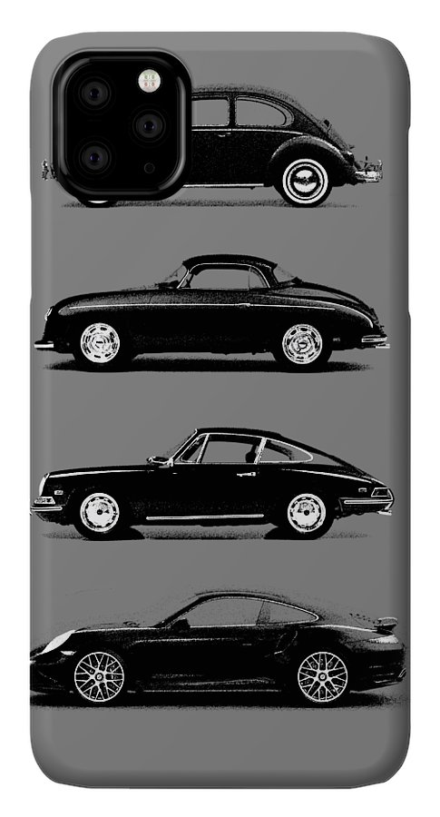Porsche IPhone 11 Pro Max Case featuring the photograph Evolution by Mark Rogan