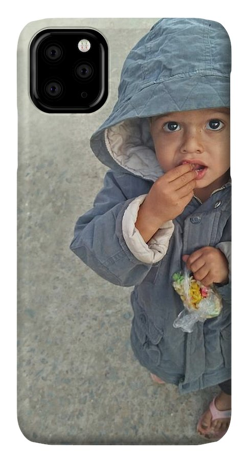 Cute IPhone 11 Pro Max Case featuring the photograph Cute Baby by Imran Khan