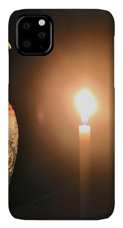 Candle Light IPhone 11 Pro Max Case featuring the photograph Light In The Dark by Ian Batanda