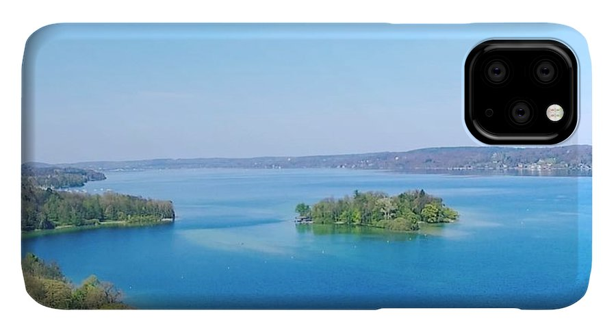 Starnberg IPhone 11 Pro Max Case featuring the photograph Roseisland by Daniel Hornof