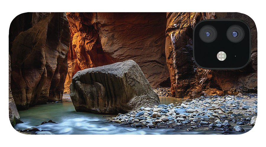 Scenics IPhone 12 Case featuring the photograph Canyon by Piriya Photography