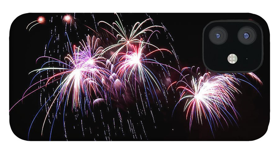Firework Display IPhone 12 Case featuring the photograph Chicago Fireworks by 400tmax