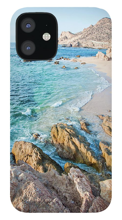 Water's Edge iPhone 12 Case featuring the photograph Chilino Bay by Christopher Kimmel