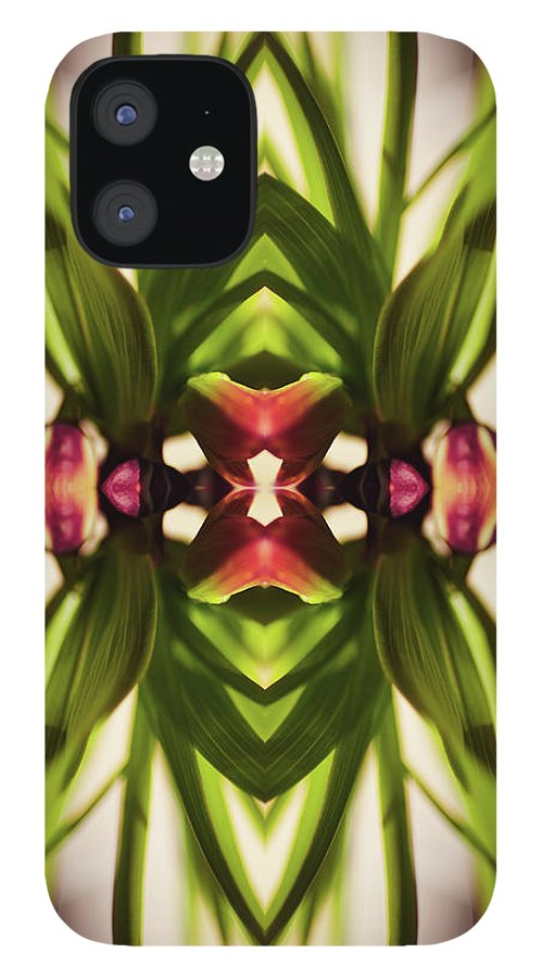 Fritillaria IPhone 12 Case featuring the photograph Fritillaria Flower Plant by Silvia Otte