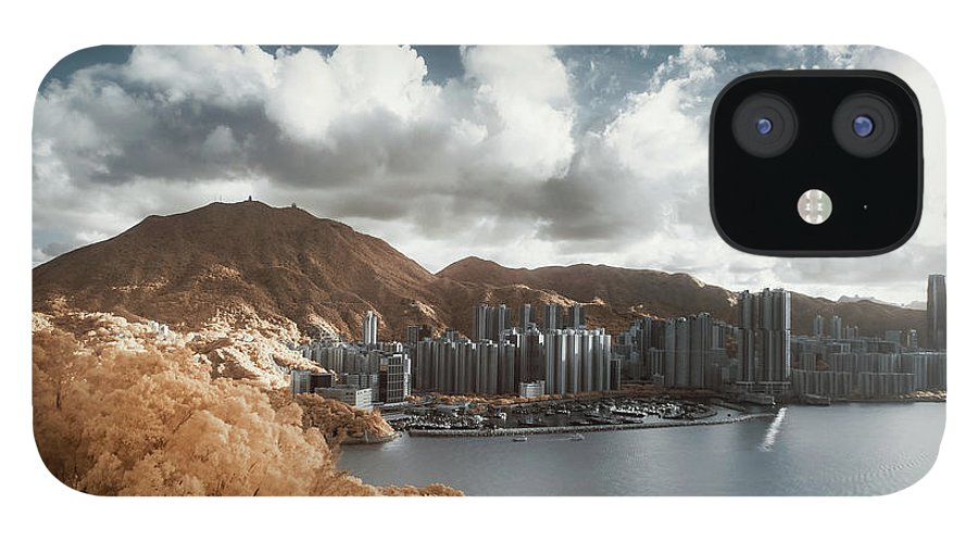 Tranquility IPhone 12 Case featuring the photograph Hong Kong by D3sign