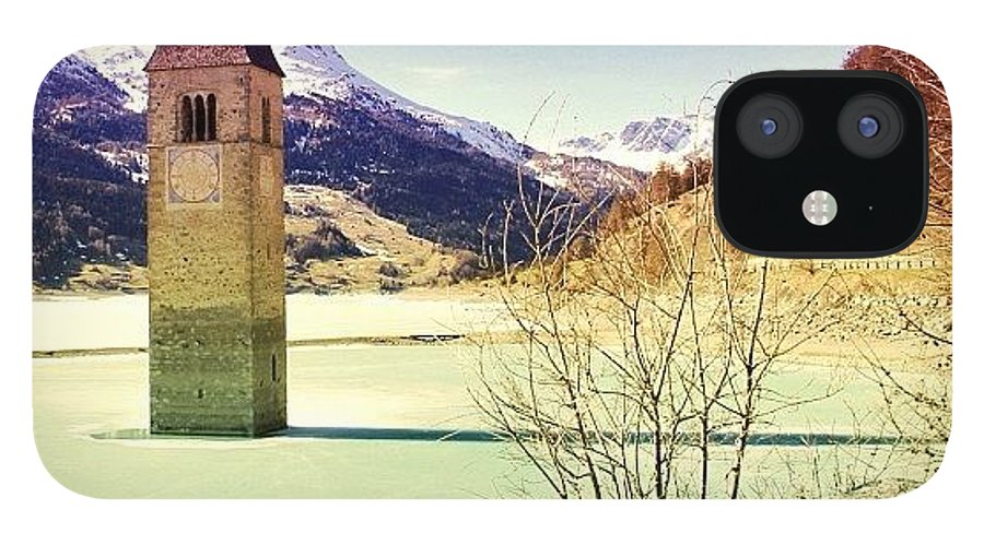 Beautiful IPhone 12 Case featuring the photograph Lago Di Resia - Alto Adige by Luisa Azzolini
