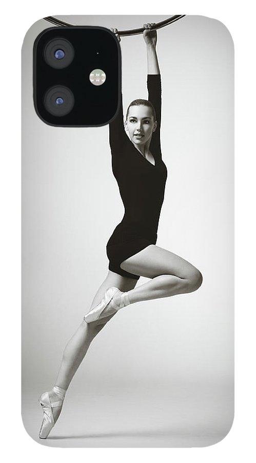 Ballet Dancer IPhone 12 Case featuring the photograph Modern Dancer by Lambada