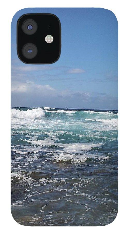 Ocean IPhone 12 Case featuring the photograph Ocean by Chandelle Hazen