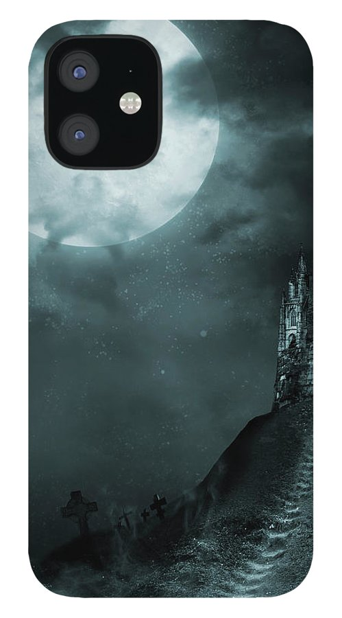 Gothic Style IPhone Case featuring the photograph Old Castle by Vladgans