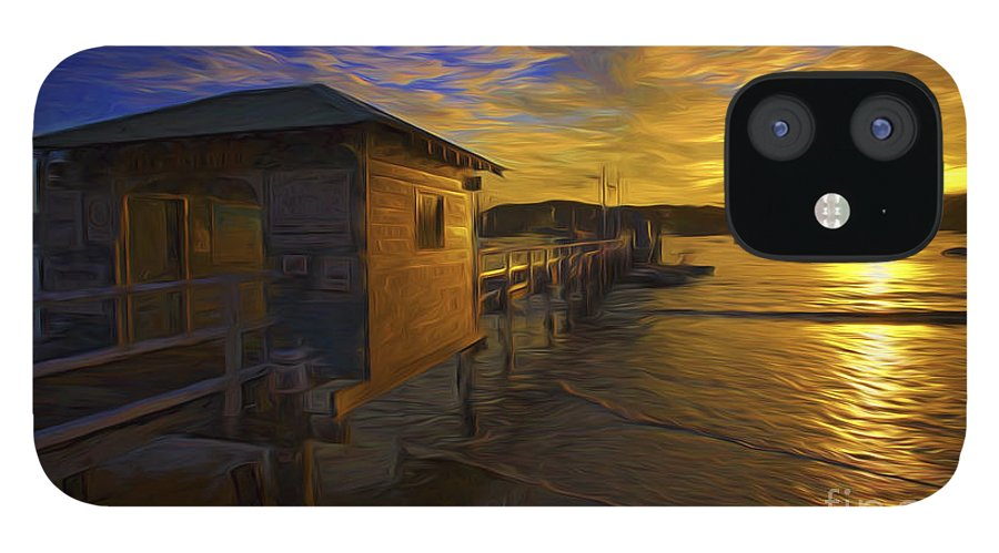 Palm Beach iPhone 12 Case featuring the photograph Palm Beach sunset by Sheila Smart Fine Art Photography
