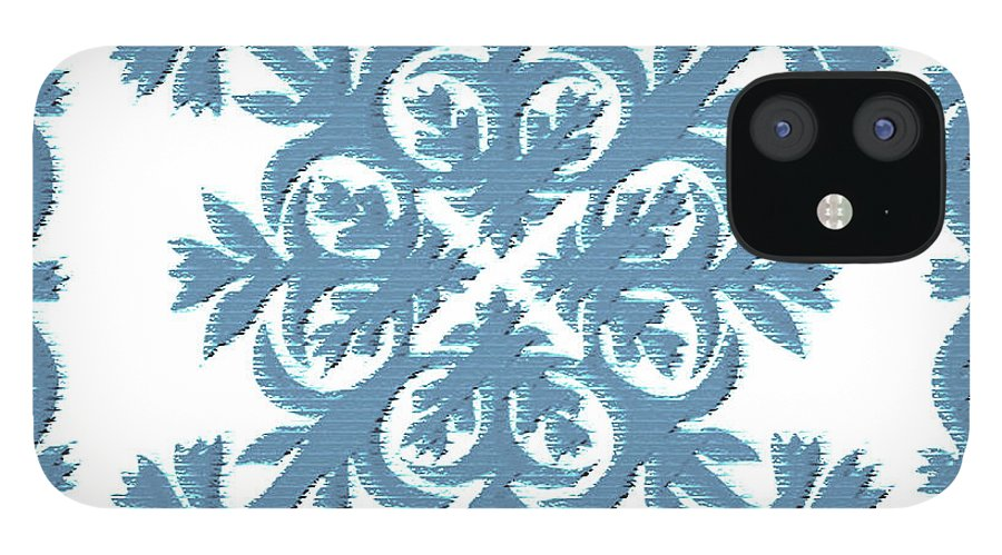 Hawaii Iphone Cases IPhone 12 Case featuring the digital art Silver Sword by James Temple