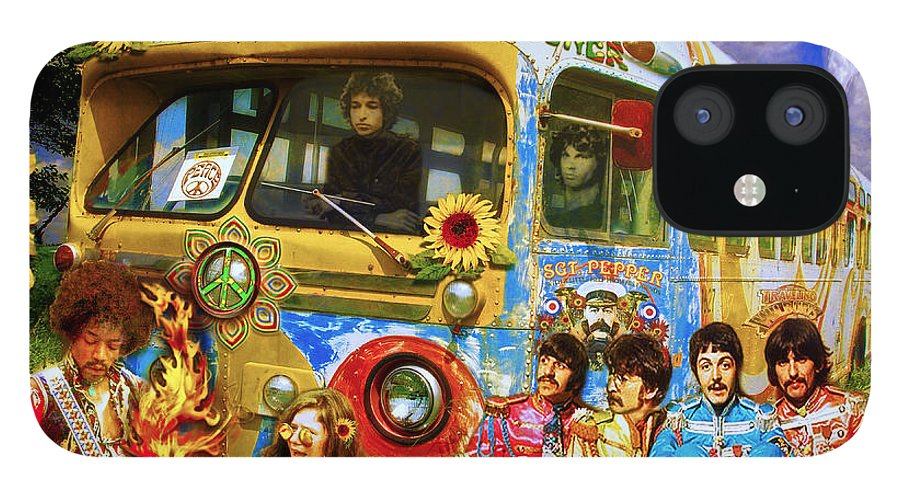 1967 IPhone 12 Case featuring the photograph 19 Sixty 7 by John Anderson