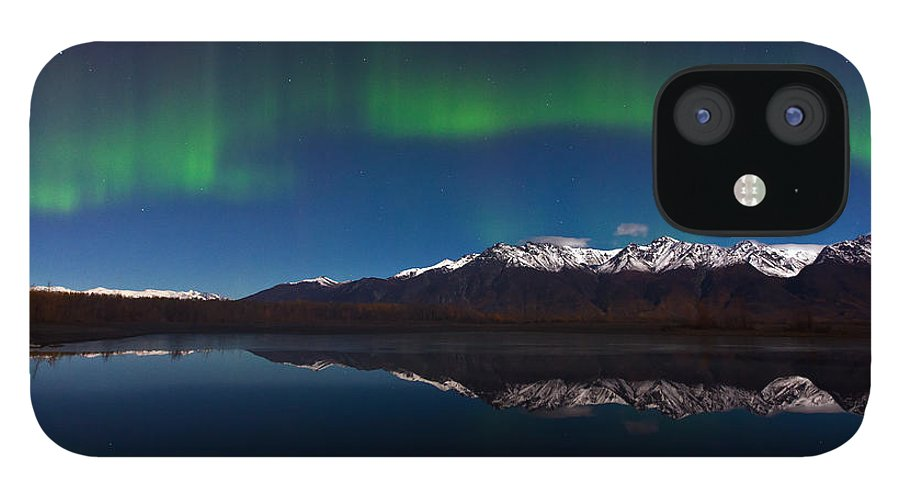 IPhone 12 Case featuring the photograph Auroras by Richard Jack-James